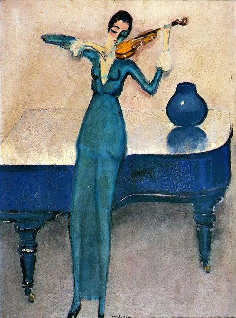1920. Kees van Dongen, La violoniste